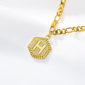 Adjustable Chain Initial Letter Anklet