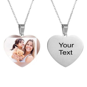 Personalized Heart Shape Necklace for Women