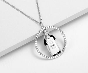 Personalized Photo Medallion Necklace