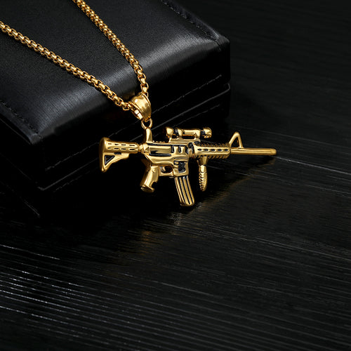 HipHop Gun Necklace