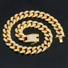 18K Gold Plated Iced Out Hip Hop Bracelet And Necklace For Her/Him