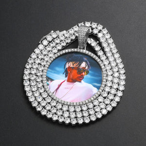 Custom Photo Medallion Necklace- Best Christmas Gifts 2020