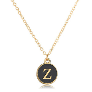 26 Letters Initial Necklace- Custom Initial Necklace
