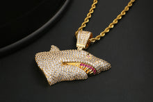 Open Mouth Shark Pendant Necklace