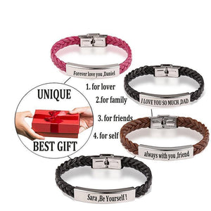 Personalized Name Bracelet For Couples