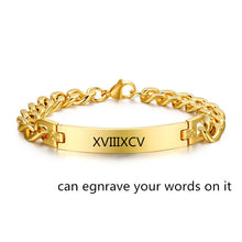 Custom Name Bracelets - Custom Any Name, Date, Number