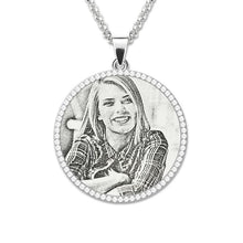Personalized Photo Necklace For Memorial Gift