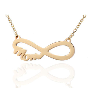 Infinity Mom Necklace For Mother's Day