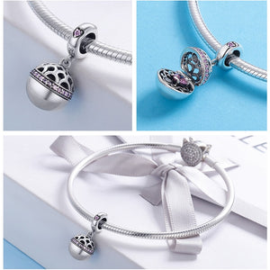 Authentic Dangle Ball Charm Pendant Fit Charm Bracelet & Necklaces