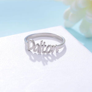 Personalized Name Ring On Sale