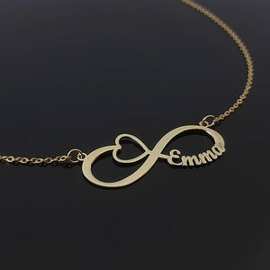 Personalized Infinity Name Necklace With Different Style