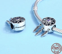 Beautiful Dream Catcher Holder Beads Fit Charm Bracelet
