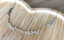 Personalized Name Necklace With 4 Names