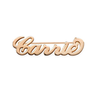 Customized Name Brooch Pins