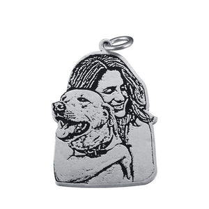 Creative Custom Photo Engraved Necklace