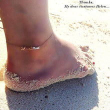 Custom Name Ankle For Women