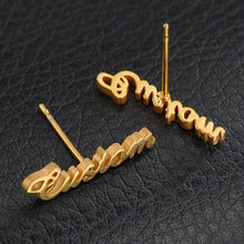 Personalized Name Earrings For Her