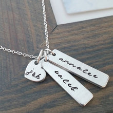 Personalized Nameplate Bar Necklace