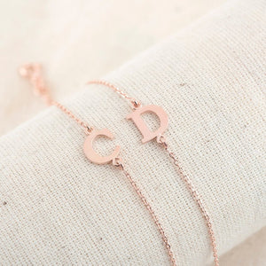 Custom Initial Bracelet Up To 6 Initials