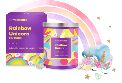 Rainbow Unicorn (Candle)