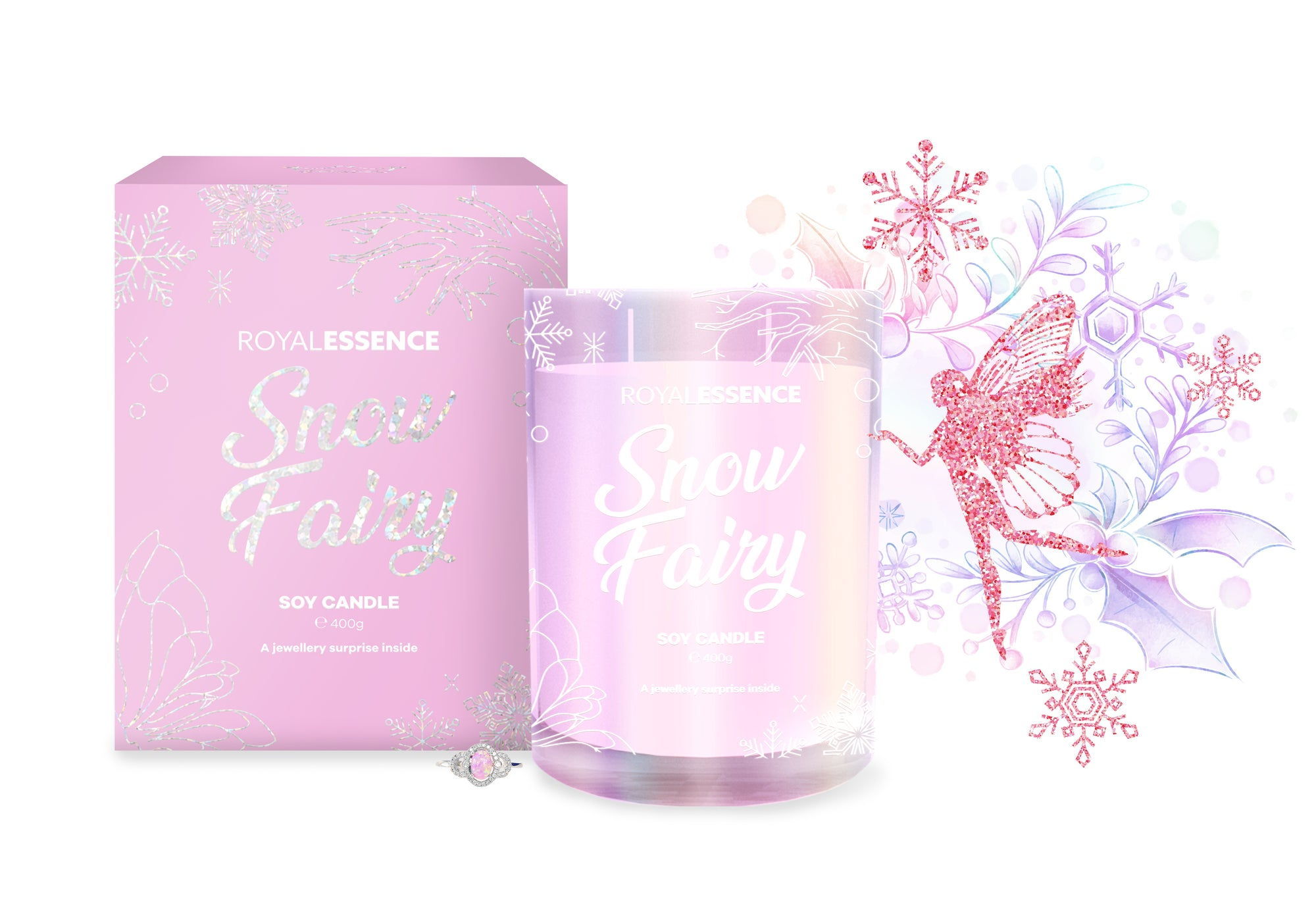 Snow Fairy (Candle)