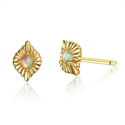 Gold Vermeil Earrings - CHAKRA