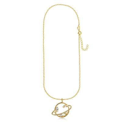 Gold Vermeil Necklace - CELESTIAL