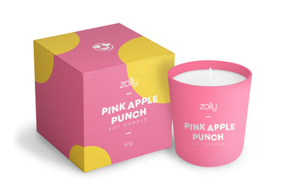 Pink Apple Punch Mini Candle 40g