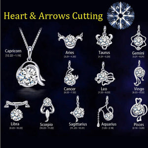 Zodiac Pendant Necklaces