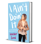 i ain't doin it AUTOGRAPHED Hardcover Book!!