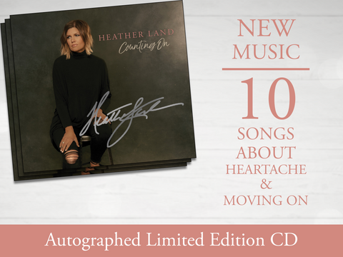 "[PRE-ORDER] Heather Land ""Counting On"" Autographed CD (2018)"