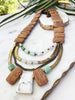 tiered necklace - GR-T-06-NL
