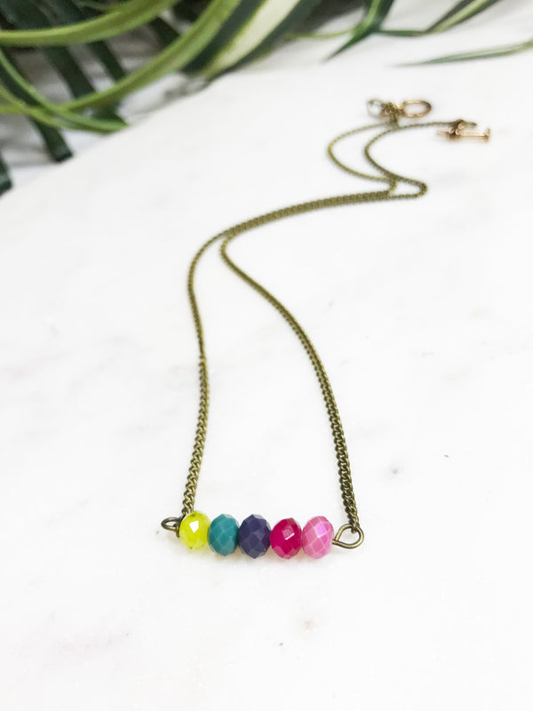 baby bauble necklace - BB-B-006-NL