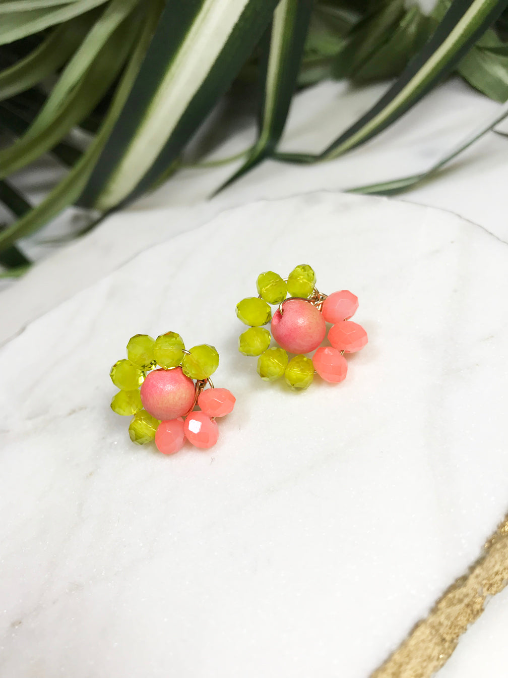 bauble post earrings - BB-P-002-ER