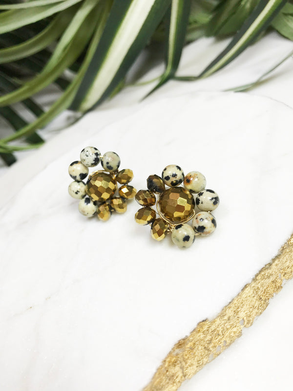 bauble post earrings - BB-P-003-ER