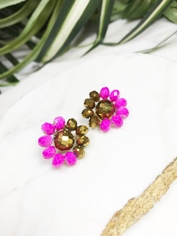bauble post earrings - BB-P-006-ER