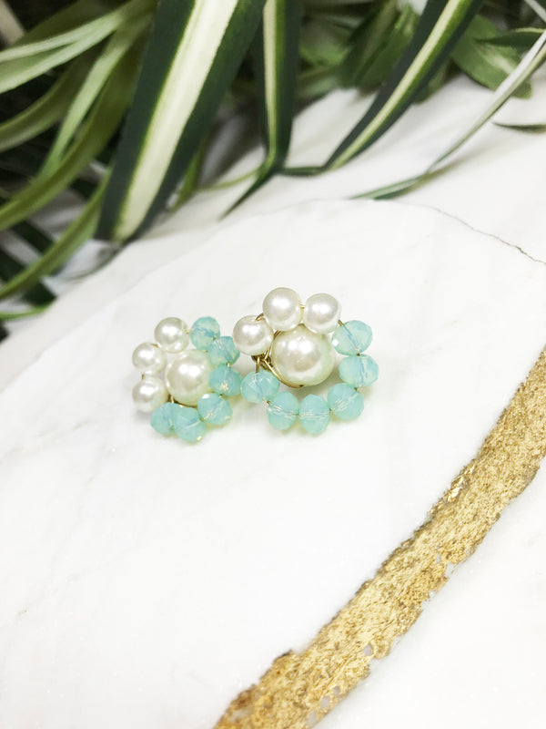 bauble post earrings - BB-P-008-ER
