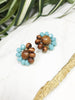 bauble post earrings - BB-P-009-ER