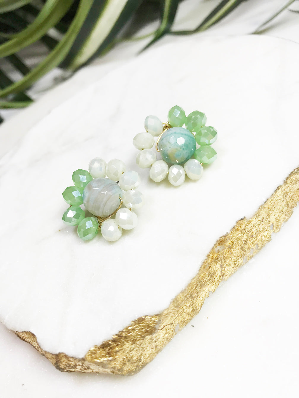 bauble post earrings - BB-P-010-ER