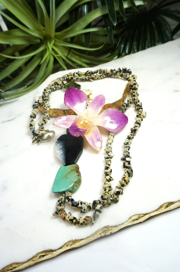 bloom classic necklace - BL-001-NL