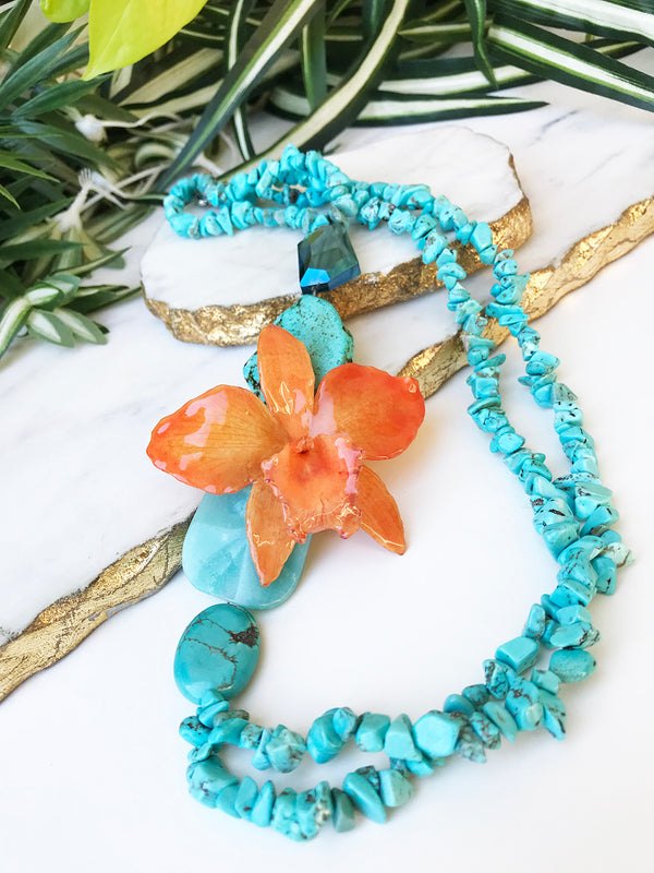 bloom classic necklace - BL-012-NL