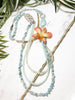 bloom tiered necklace - BL-T-003-NL