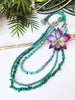 bloom tiered necklace - BL-T-010-NL