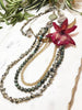 bloom tiered necklace - BL-T-017-NL
