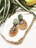 cabana earrings - CB-002-ER