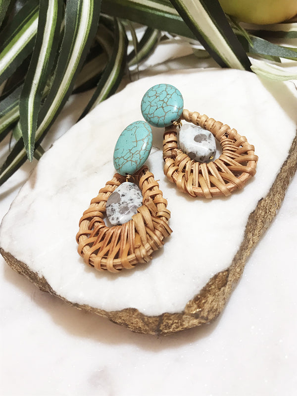 cabana earrings - CB-003-ER