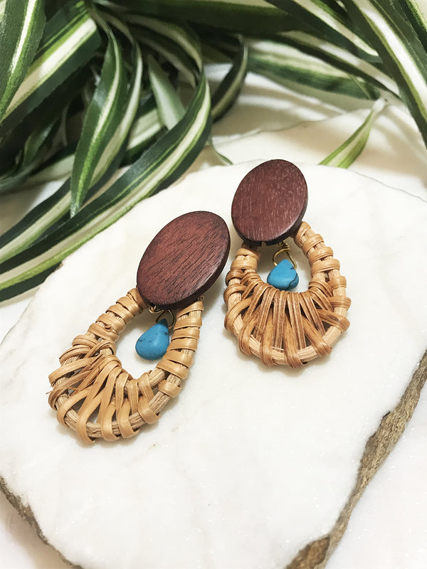 cabana earrings - CB-005-ER