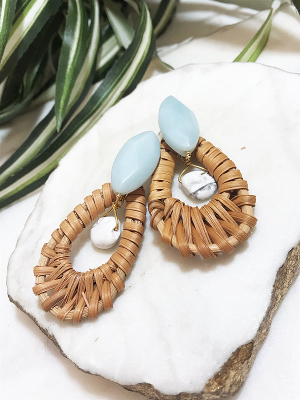 cabana earrings - CB-006-ER
