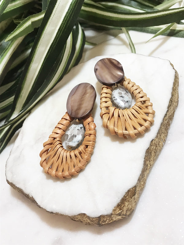 cabana earrings - CB-0012-ER