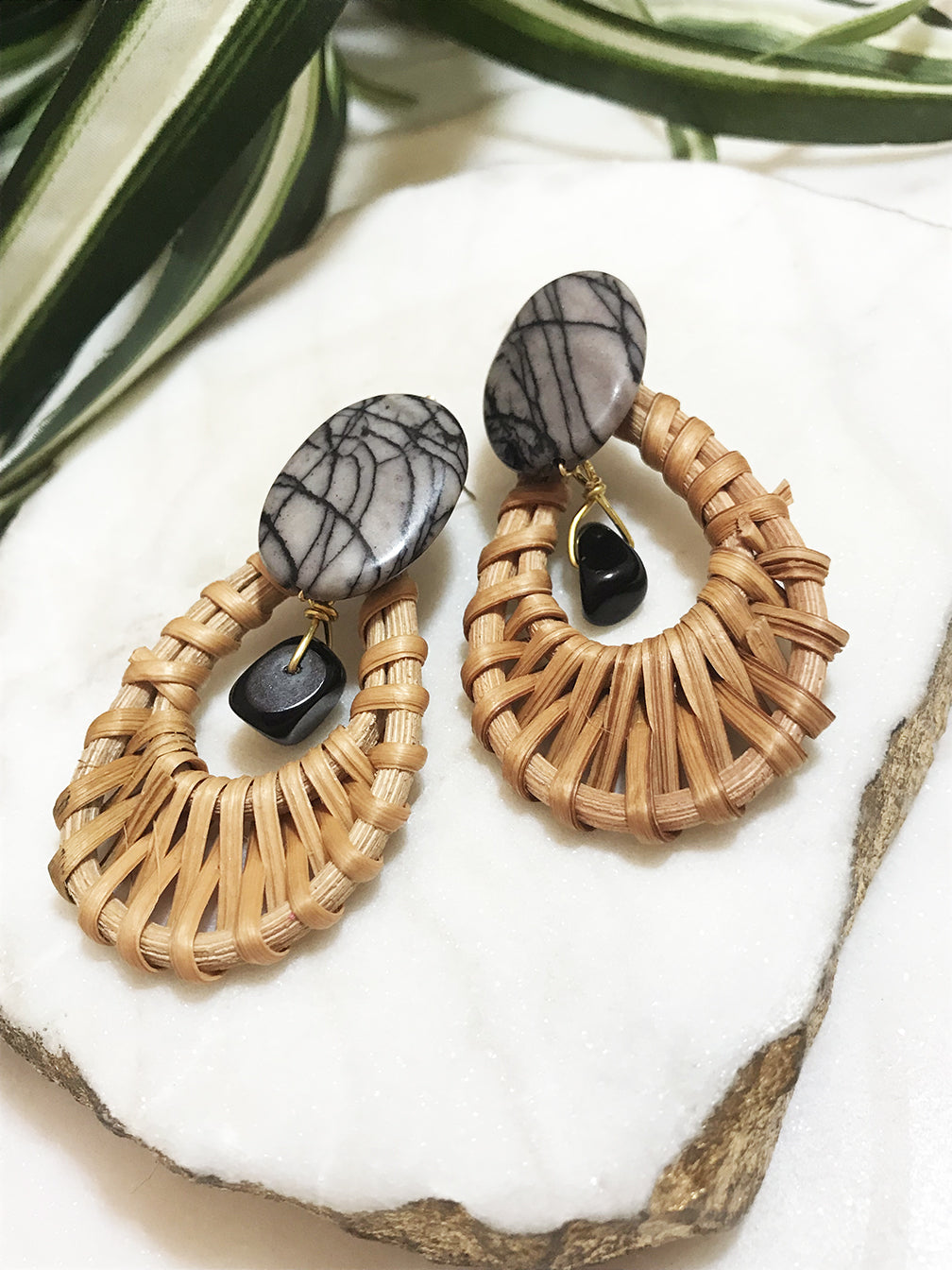 cabana earrings - CB-016-ER